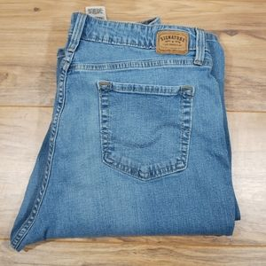 Levi's at waist boot cut